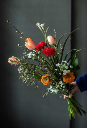 Persoonalliset kukkakimput Hohdosta.